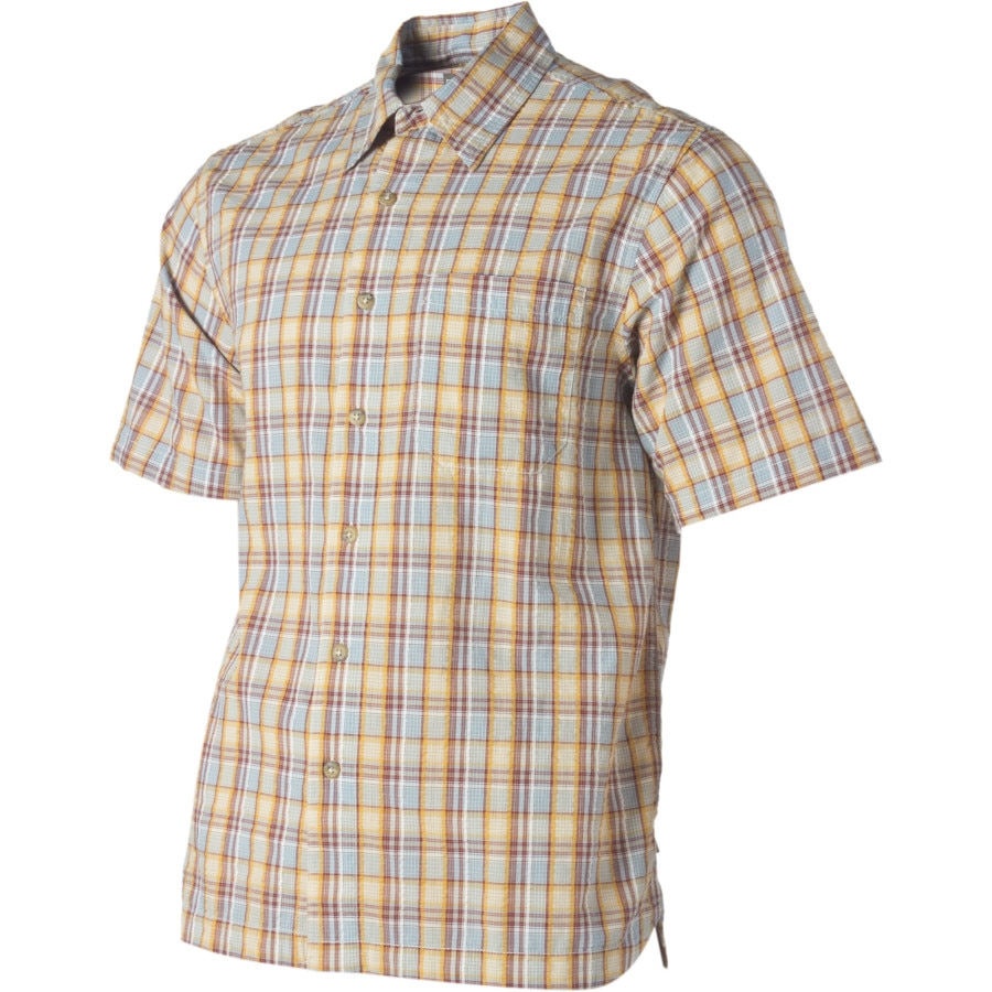 Royal robbins mountain air seersucker shirt short sleeve for Mens short sleeve seersucker shirts