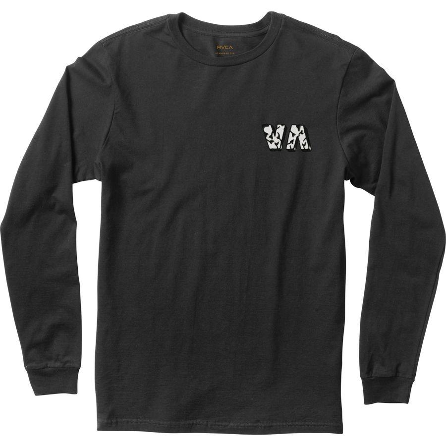 Rvca bert wolf t shirt long sleeve men 39 s for Rvca mens t shirts