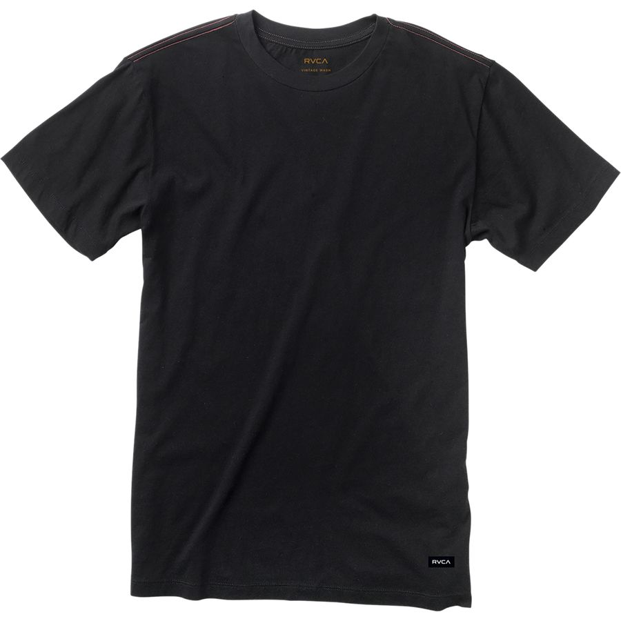 Rvca label vintage wash t shirt men 39 s for Rvca mens t shirts