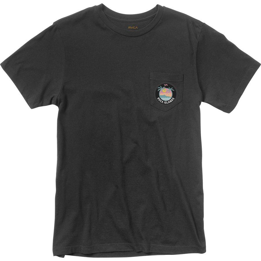Rvca island pocket t shirt men 39 s for Rvca mens t shirts