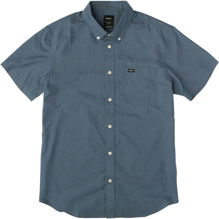 Rvca that 39 ll do oxford shirt men 39 s for Mens short sleeve oxford shirt