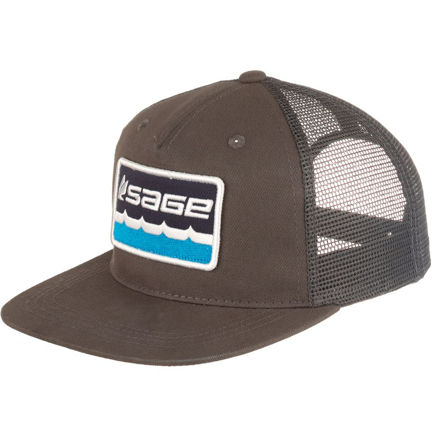 Sage on the water trucker hat for Sage fly fishing hat