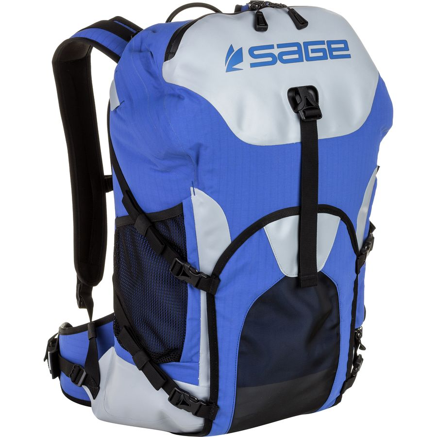Sage technical fishing backpack 28l 1709cu in for Fly fishing backpack