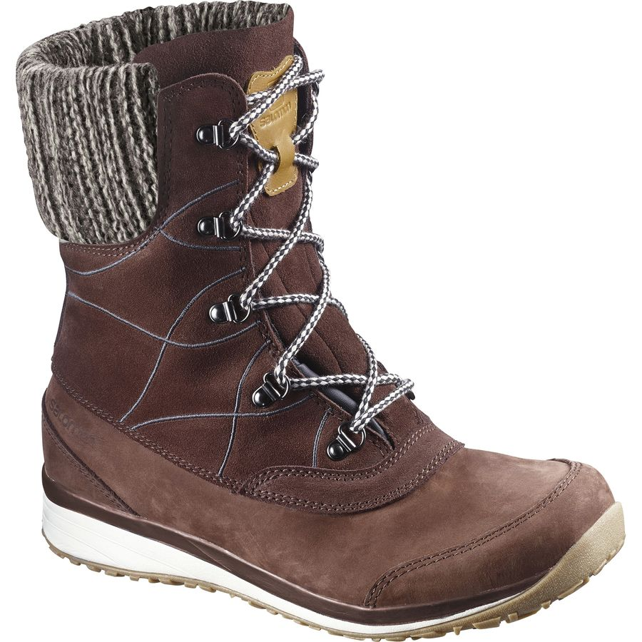 Salomon Hime Mid Leather CSWP Boot - Womens
