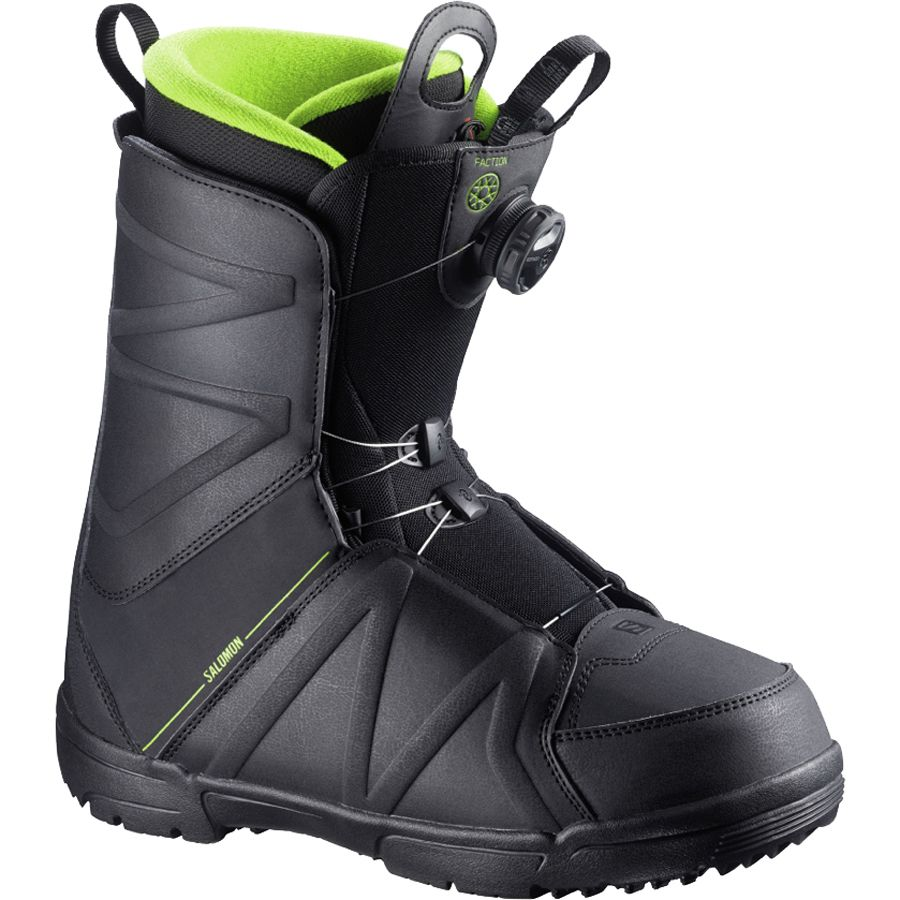 salomon snowboards faction boa snowboard boot men 39 s. Black Bedroom Furniture Sets. Home Design Ideas