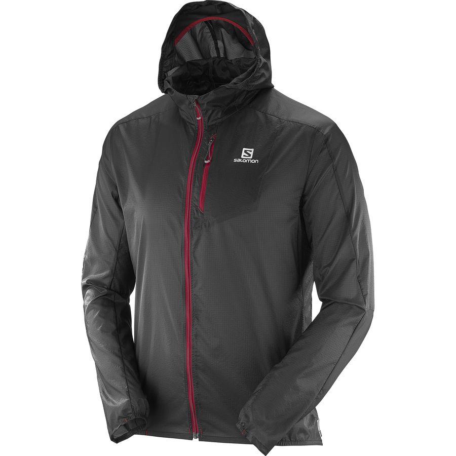 Salomon Fast Wing Hooded Jacket - Men's