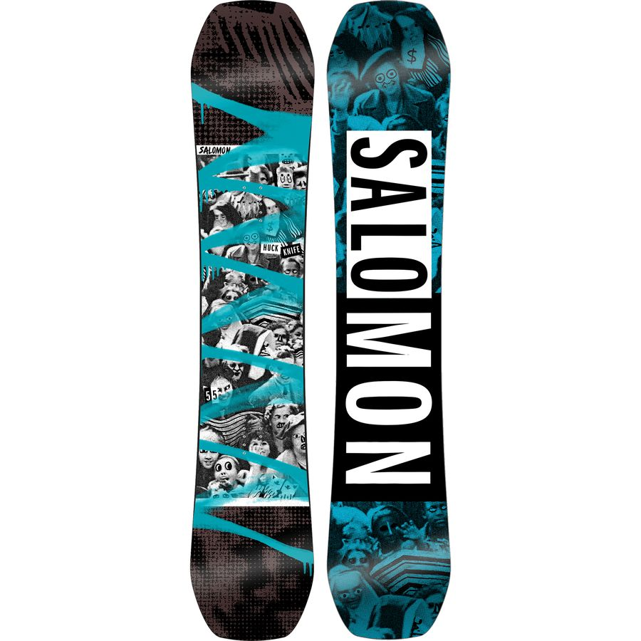 Salomon Snowboards Huck Knife Snowboard - Wide
