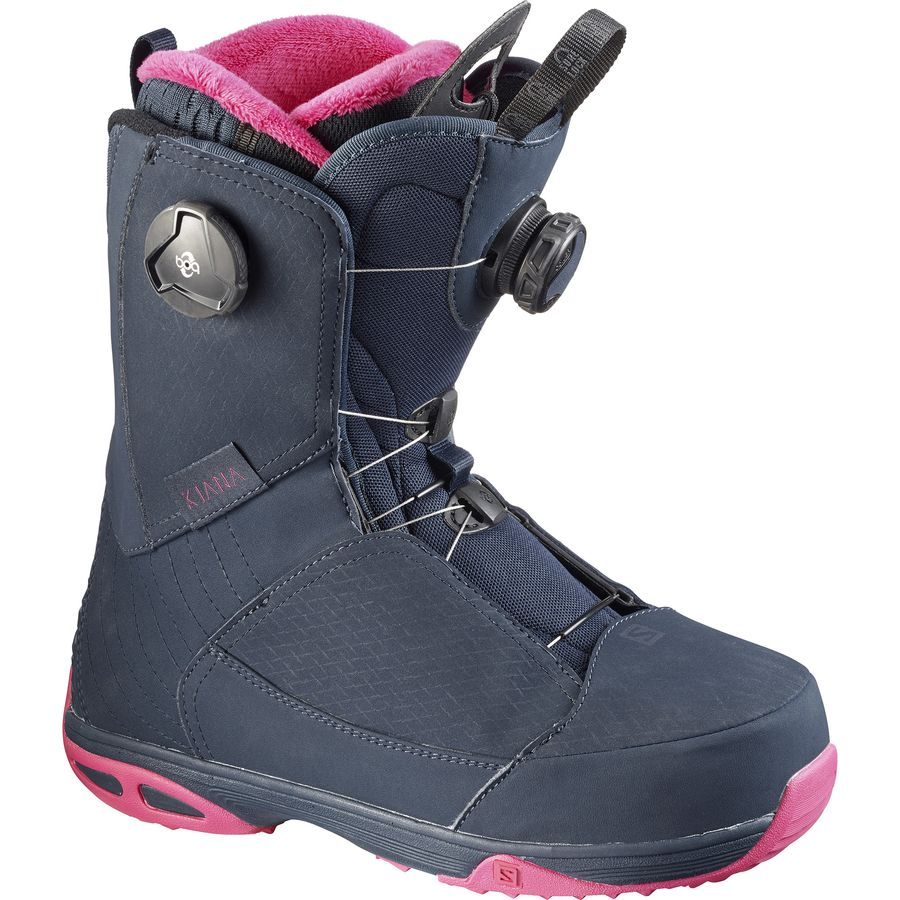 Excellent Salomon Verse 40 Womens Snow Ski Boots Size 55 Mondo 23 NEW  EBay