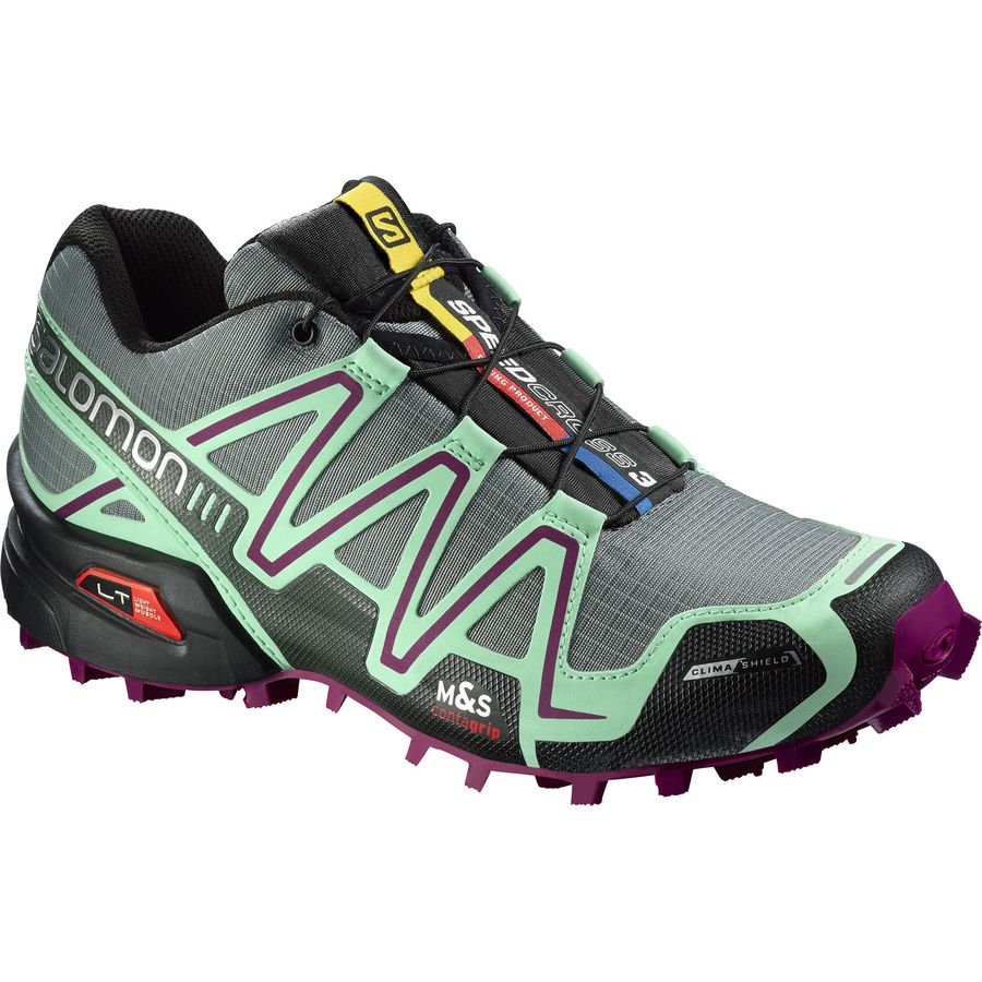 salomon speedcross 3 climashield trail running shoe. Black Bedroom Furniture Sets. Home Design Ideas