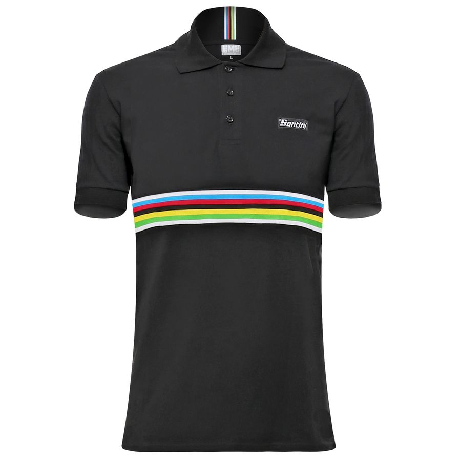 Santini UCI Polo Shirt - Mens