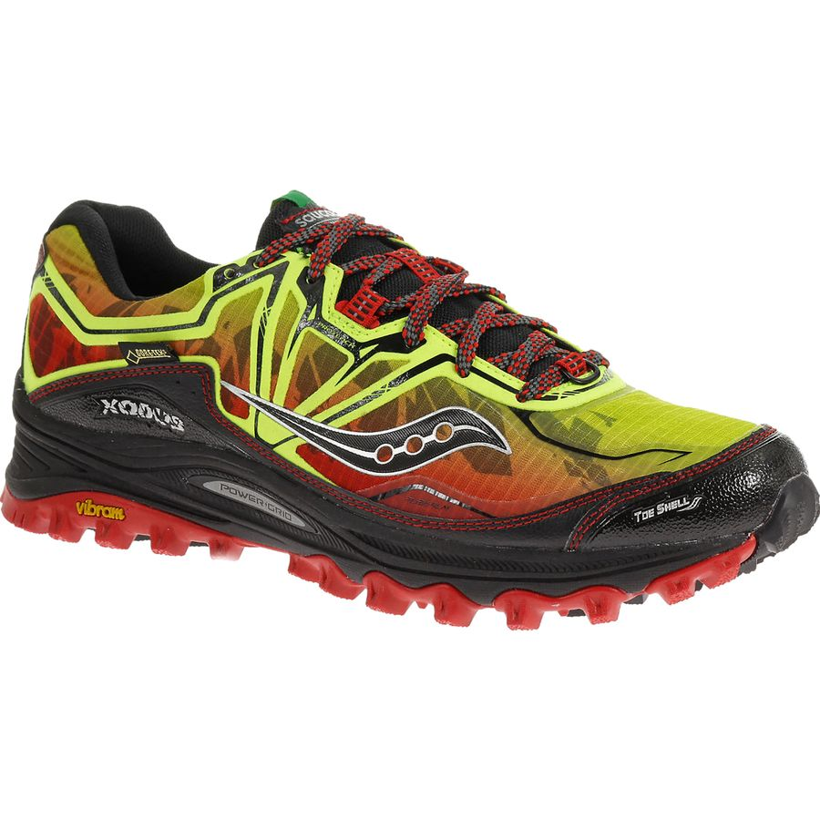 saucony powergrid xodus 6 0 gtx trail running shoe men 39 s. Black Bedroom Furniture Sets. Home Design Ideas