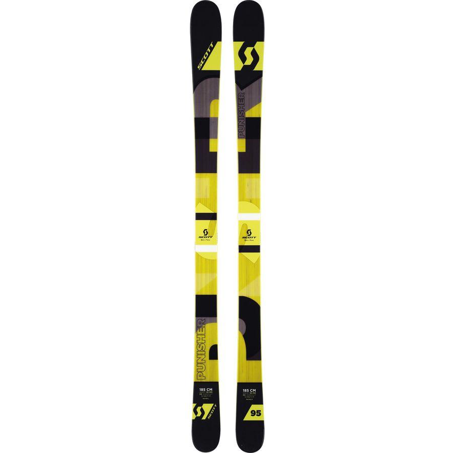 Scott punisher ski all mountain carve skis