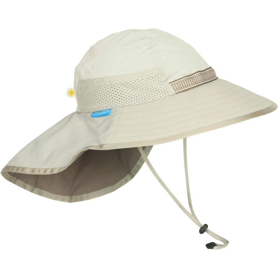 The Adventure Hat from Sunday Afternoons provides nearly weightless UPF 50+ sun protection with its innovative and patented design. Featuring strategic ventilation, customizable sizing, a 4-inch wide front brim, inch sides, and a inch neck flap; the Sunday Afternoons Adventure Hat is the ultimate choice for sun conscience adventurers.