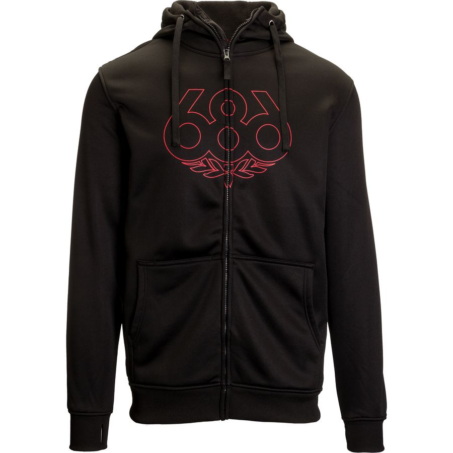 686 Icon Bonded Full-Zip Fleece Hoodie - Mens