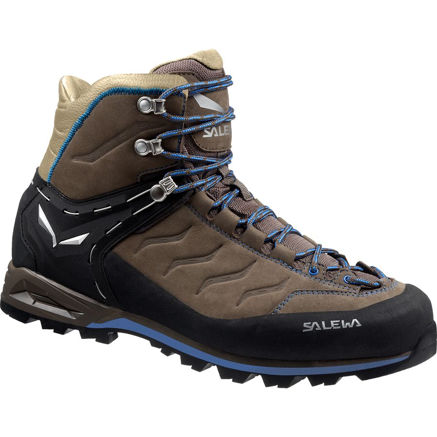 Salewa Mountain Trainer Mid Leather Backpacking Boot - Mens