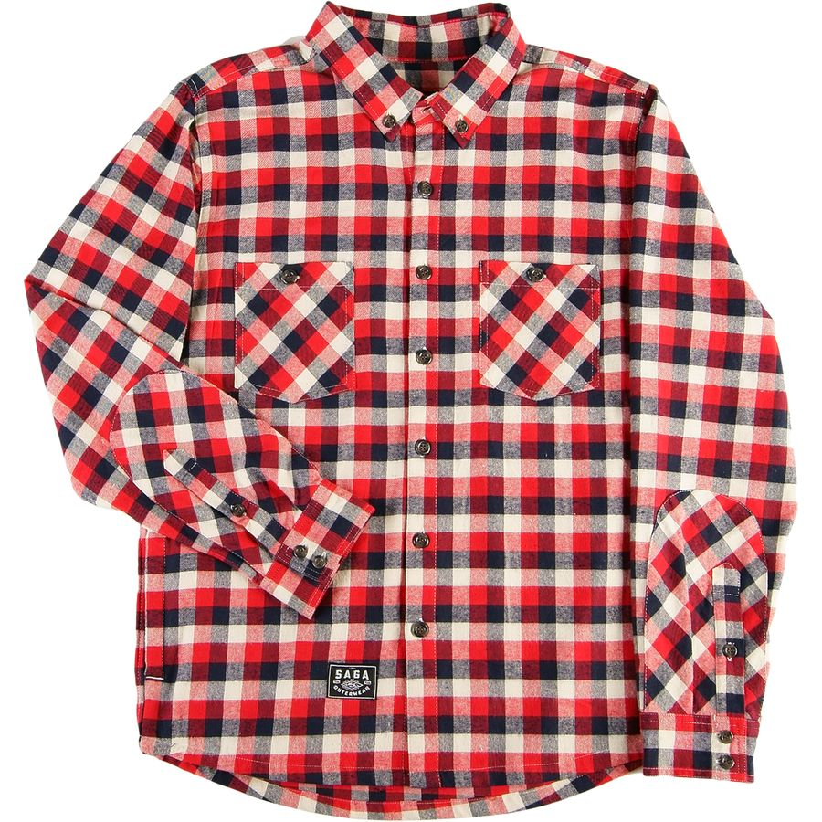 Saga Life Flannel Shirt Men 39 S Up To 70 Off Steep