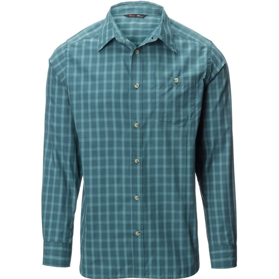 stoic mallard plaid shirt long sleeve men 39 s