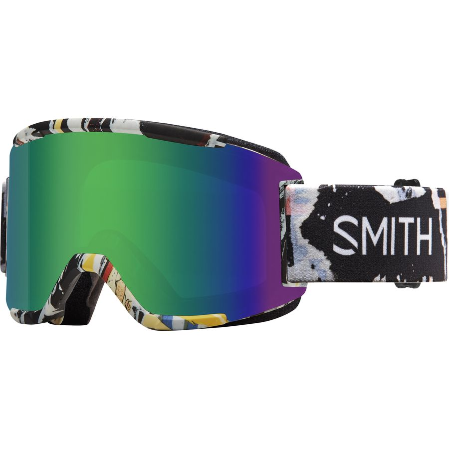 how to change lenses on smith squad goggles
