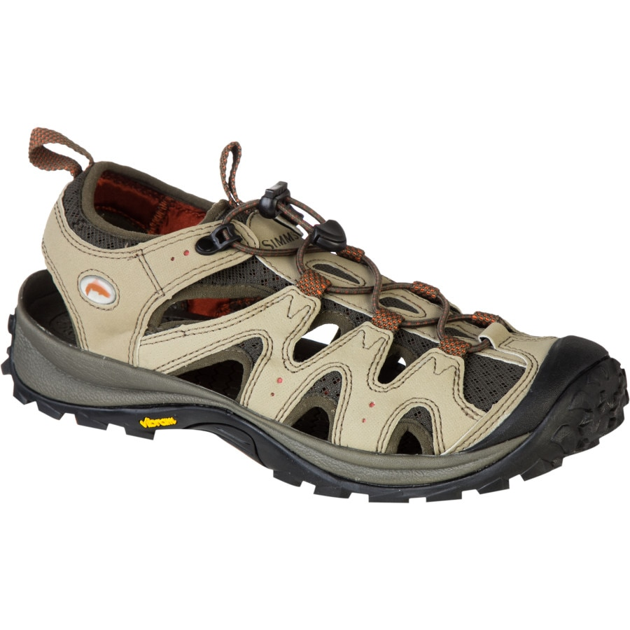 Simms streamtread sandal men 39 s for Simms fishing shoes