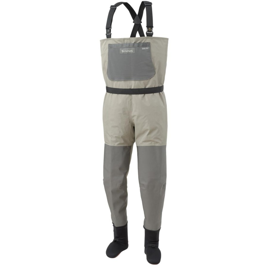 Simms headwaters convertible stockingfoots wader men 39 s for Simms fishing waders
