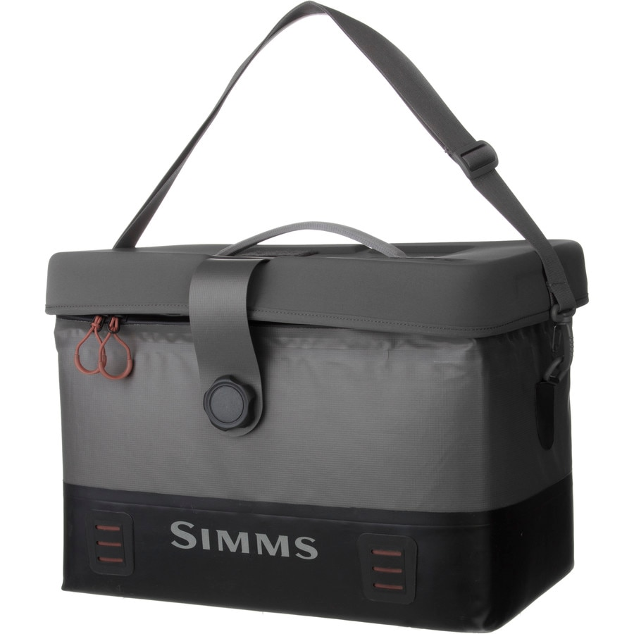 Simms dry creek boat bag 1220 2013cu in for Fly fishing luggage