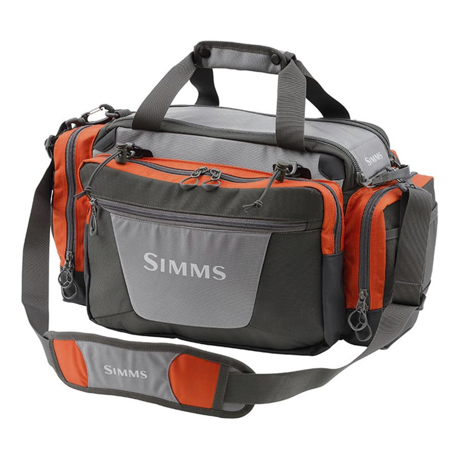 Simms headwaters tackle bag 2135cu in for Fly fishing luggage