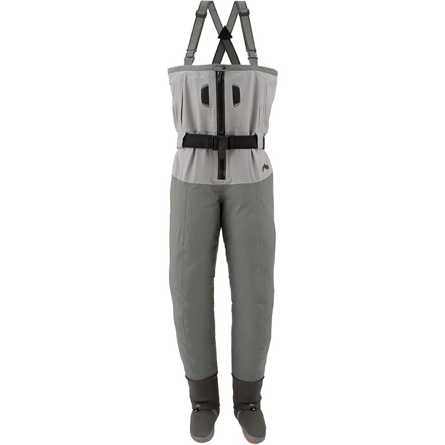 Simms freestone z stockingfoot wader men 39 s for Surf fishing waders