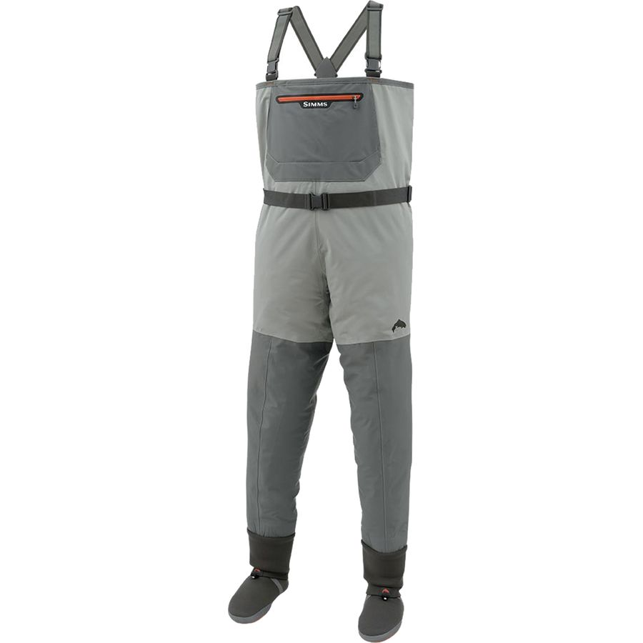 Simms freestone stockingfoot wader men 39 s for Fly fishing waders sale