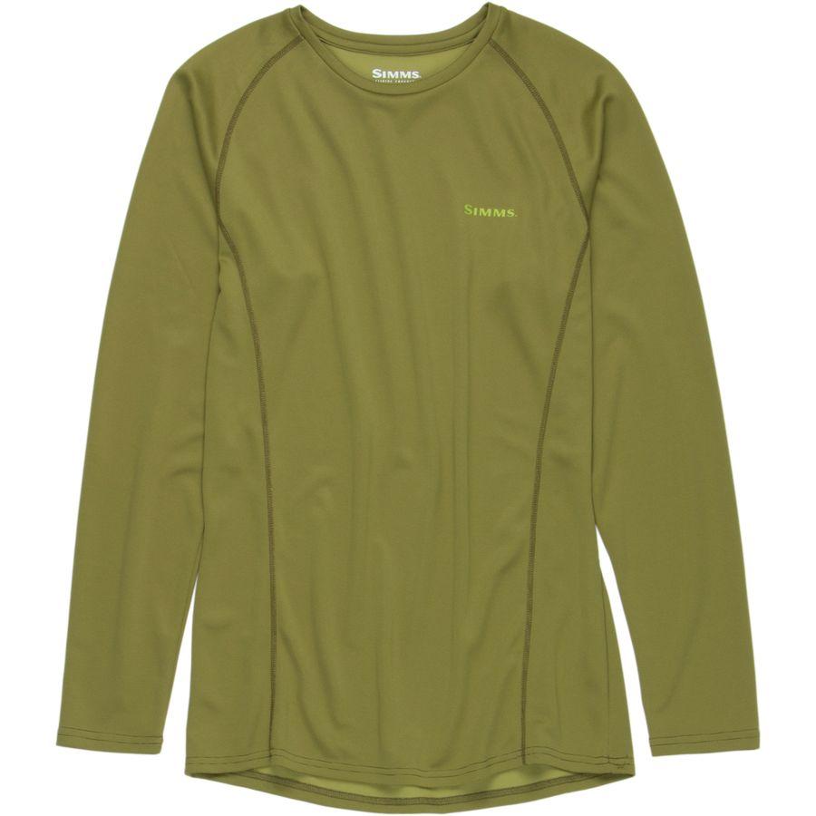 Simms Waderwick Core Crewneck Shirt - Short-Sleeve - Men's