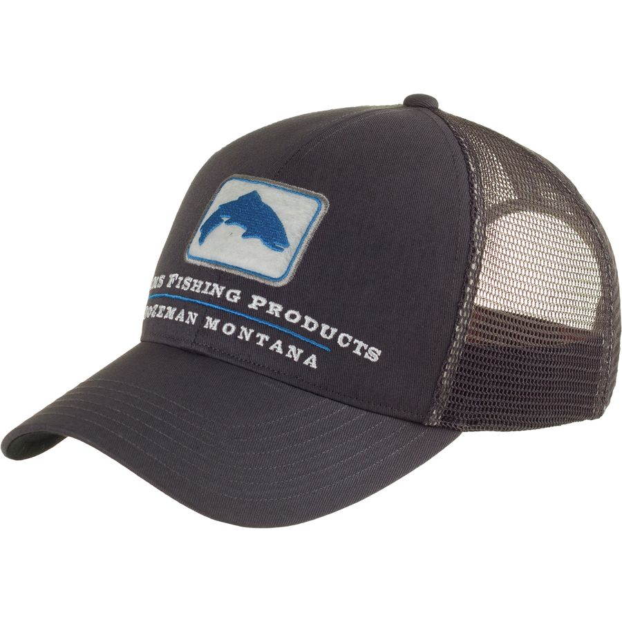 Simms trout trucker hat for Fishing trucker hats