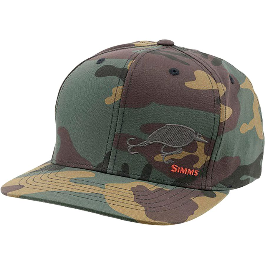 Simms cotton twill snapback hat for Simms fishing hat