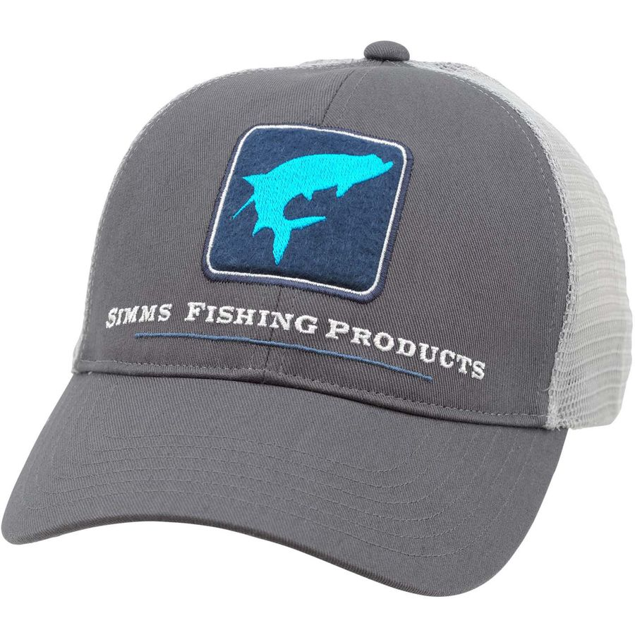 Simms tarpon trucker hat for Simms fishing hat