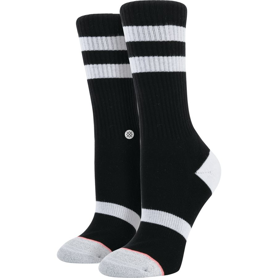 The cost of women's athletic socks is determined by a number of factors, including features, length, construction materials, and durability. Prices typically range from just under $10 to $25 for a .