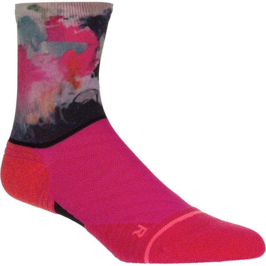 Stance Painted Crew Run Socks - Women's