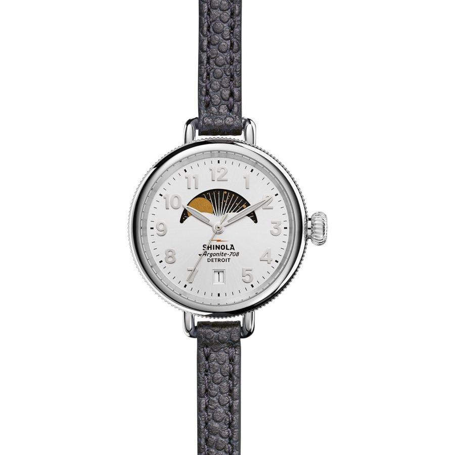 Shinola Birdy 34mm Moon Phase Watch - Women's