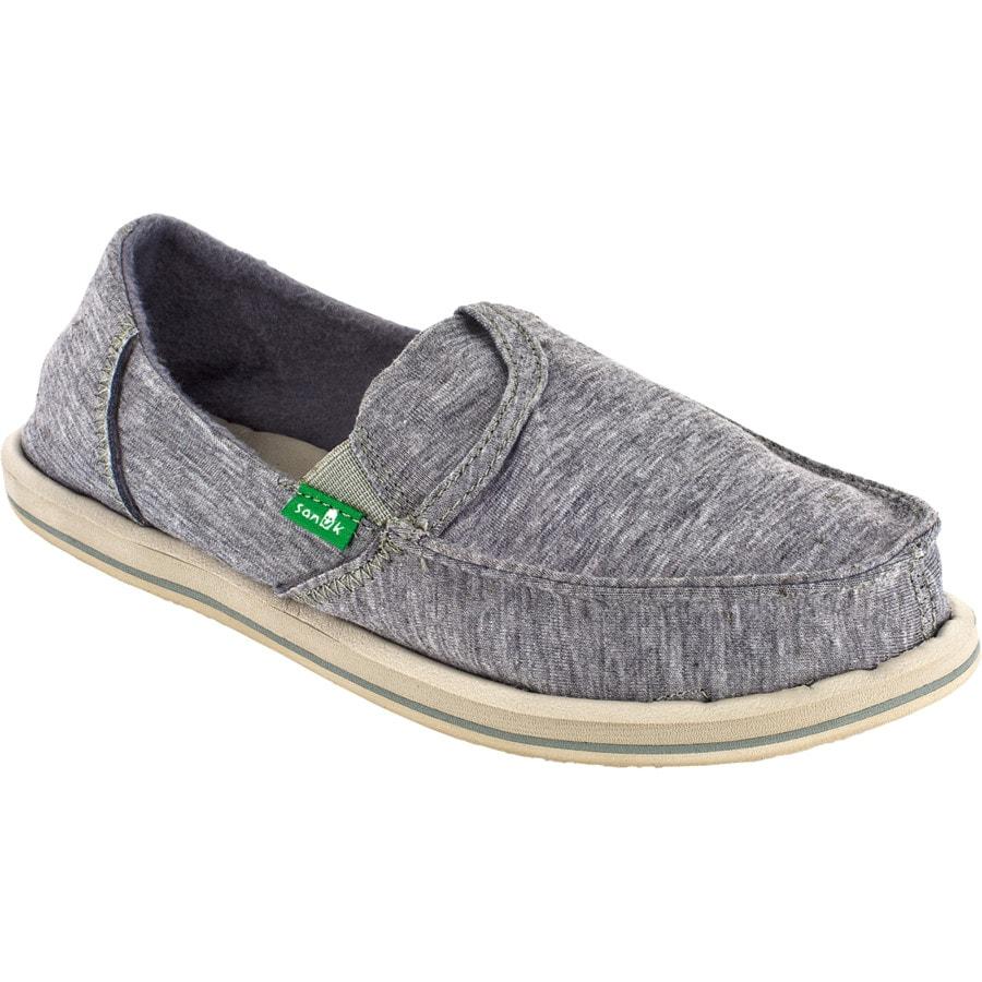 sanuk pocket fleece shoe s