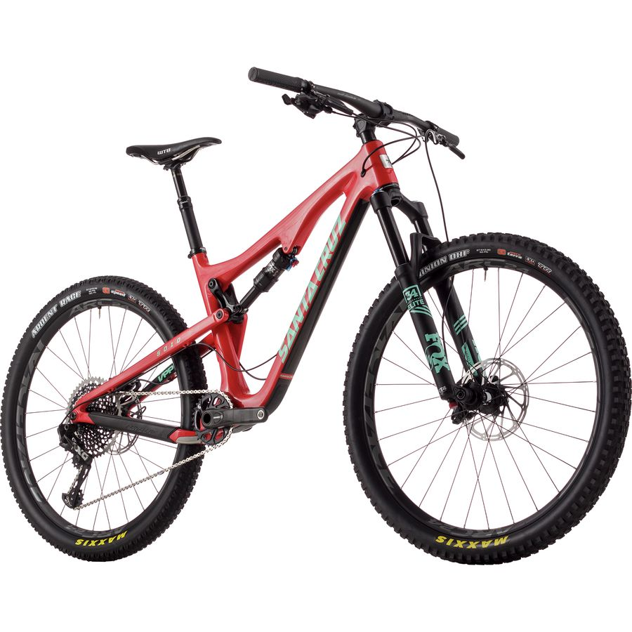 Santa Cruz Bicycles 5010 2.0 Carbon CC X01 Eagle Complete Mountain Bike - 2017