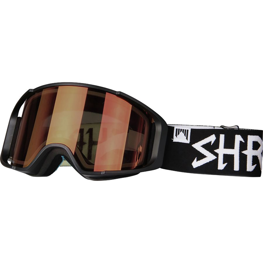 Shred Optics Simplify Goggles with Bonus Lens