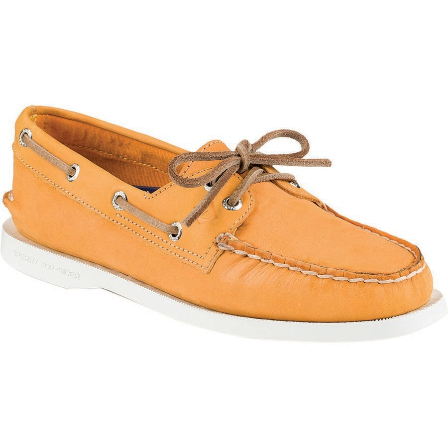 Sperry Top Sider Eye Wax Leather Shoe Women