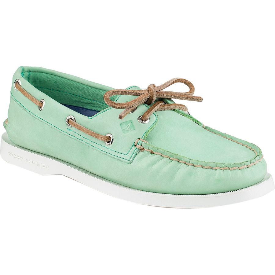 Sperry Top-Sider A/O 2-Eye Wax Leather Shoe - Womens