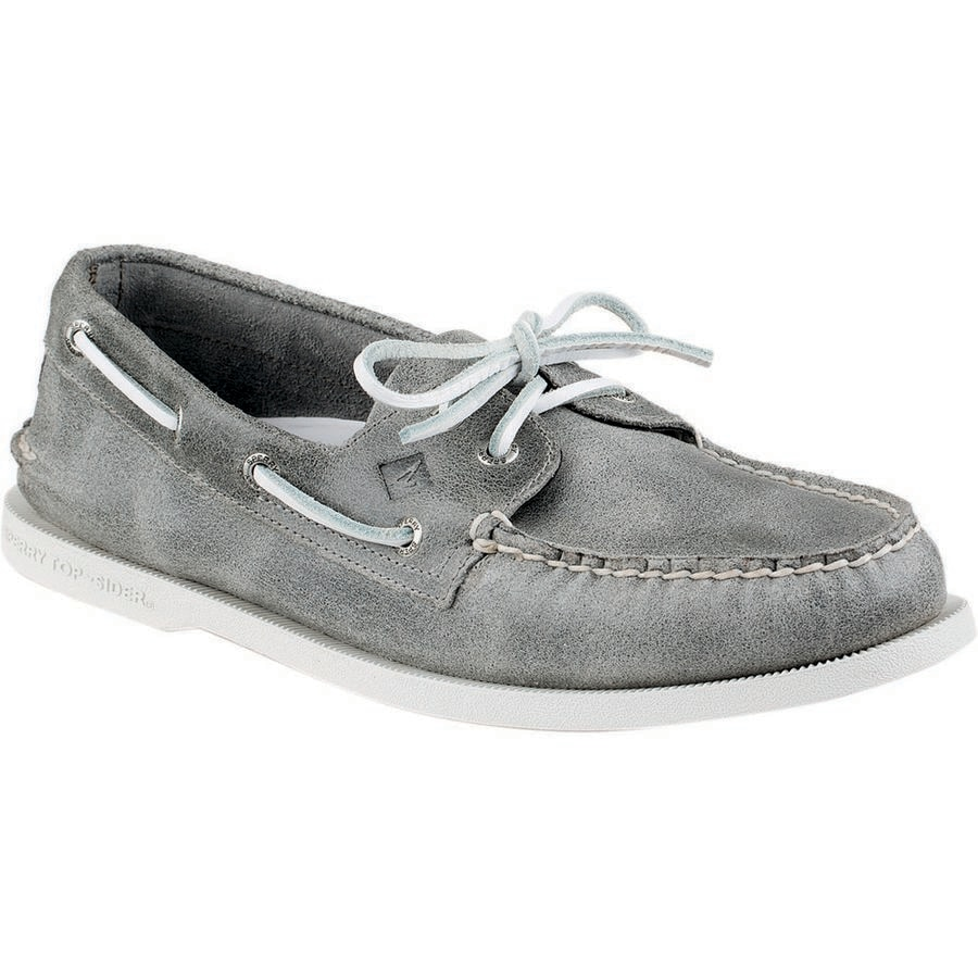 Sperry Top-Sider A/O 2-Eye White Cap Shoe - Mens