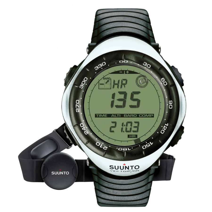 Suunto vector hr altimeter watch for Mountain watches