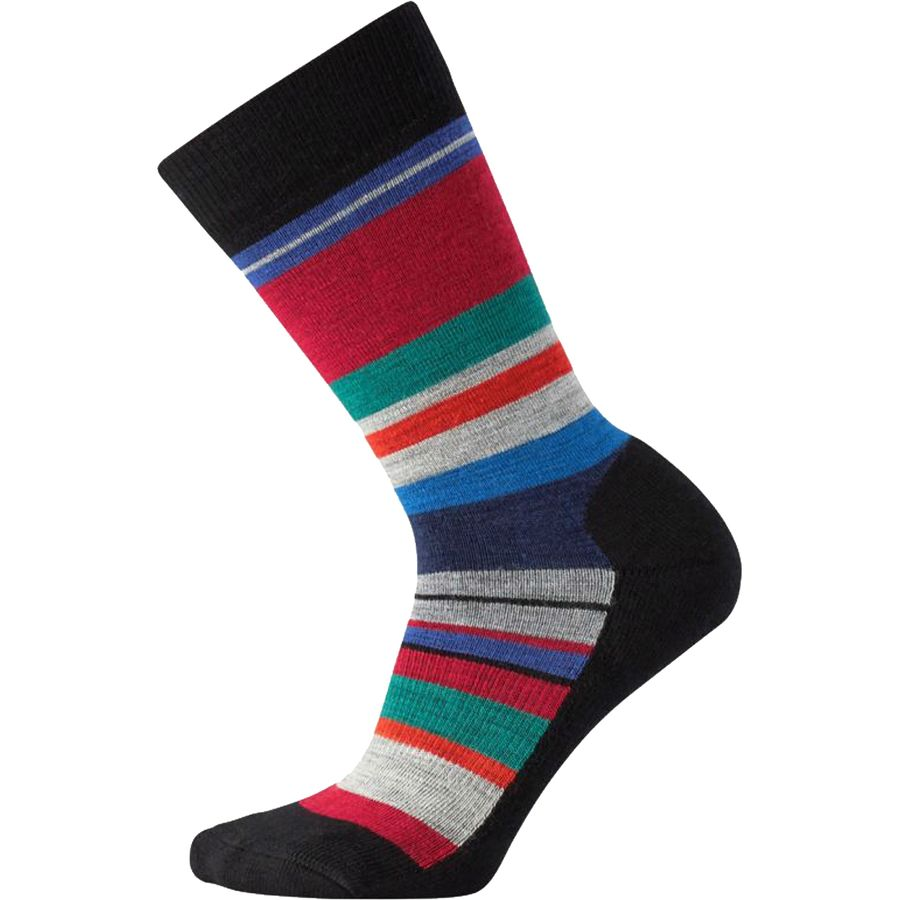 Wool socks are made of natural merino wool fibers that can be worn year round. They retain heet during the winter and dry fast during the summer. Many people belive that wool socks should not be worn in hot climates, but that is contrary to what to the truth.