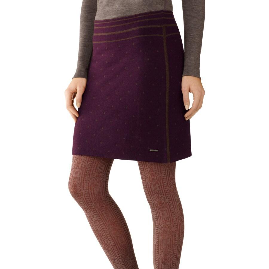 smartwool mini dot knit skirt s