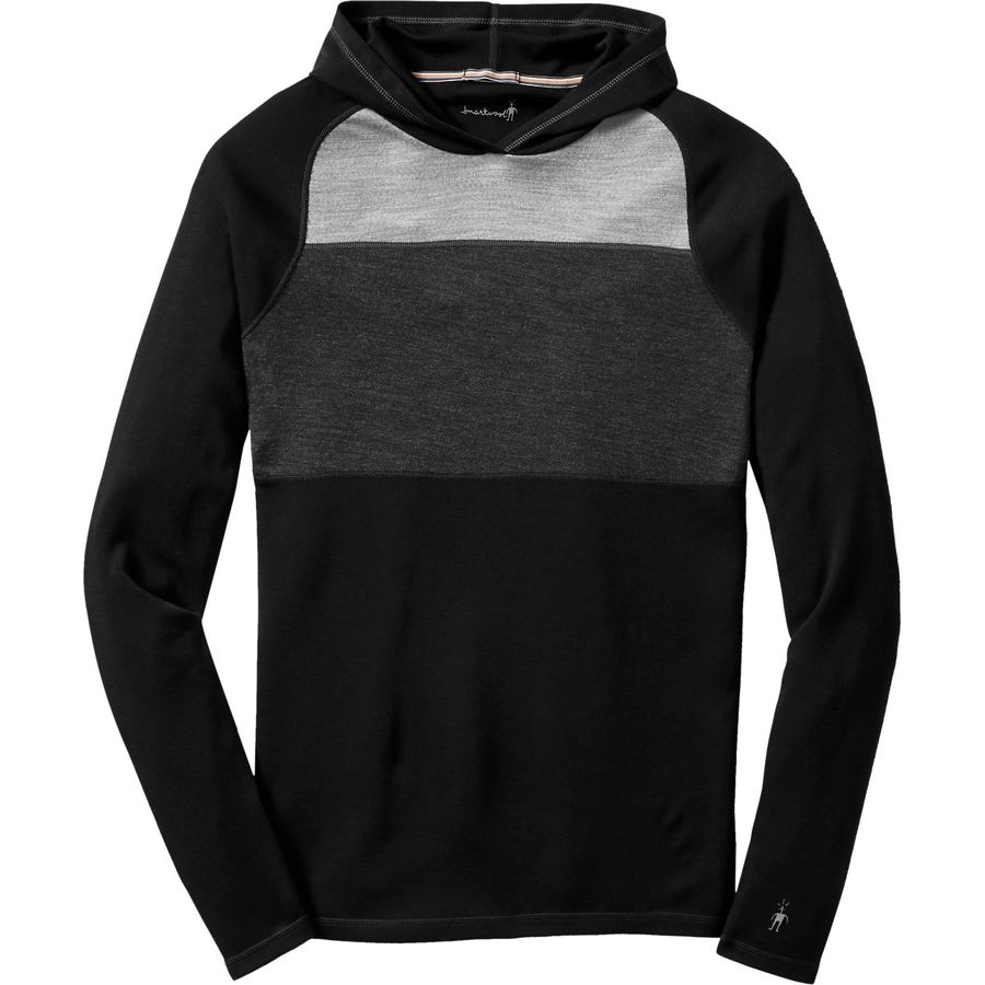 SmartWool NTS Midweight 250 Color Block Pullover Hoodie - Mens