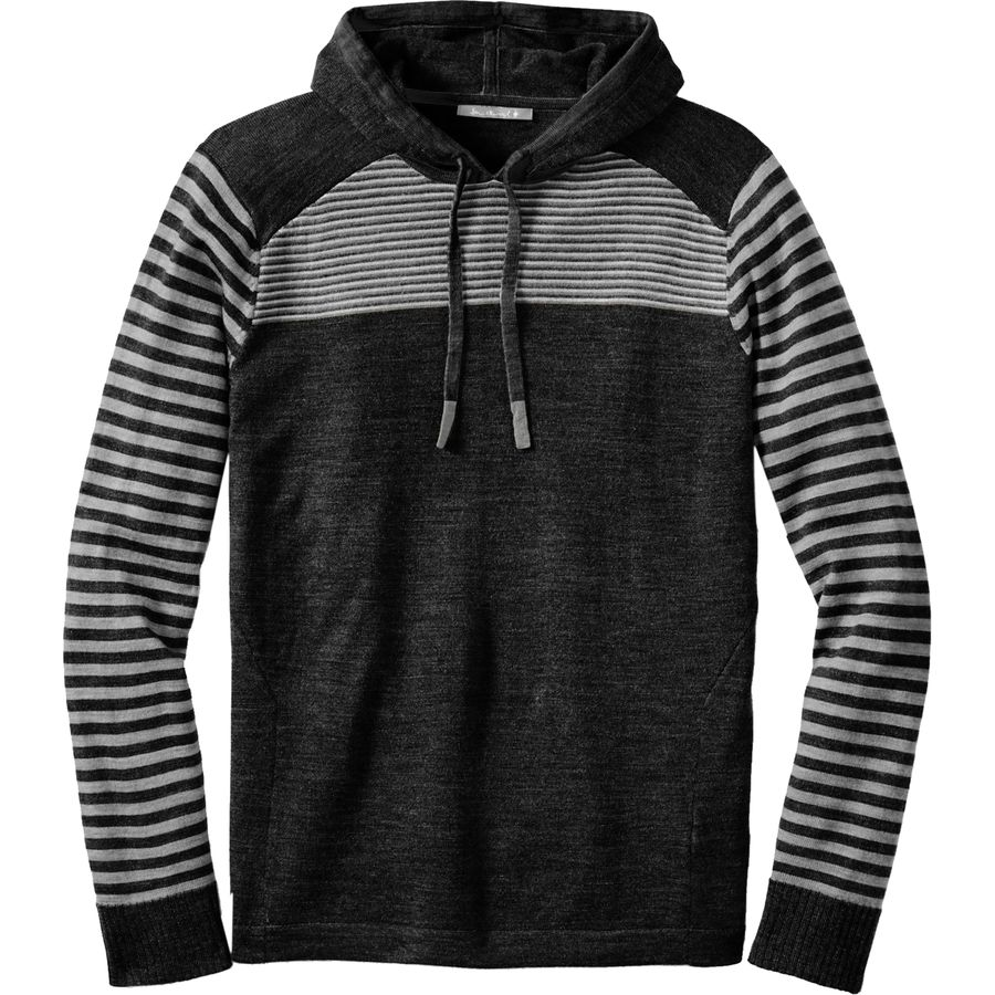 SmartWool Kiva Ridge Striped Pullover Hoodie - Mens