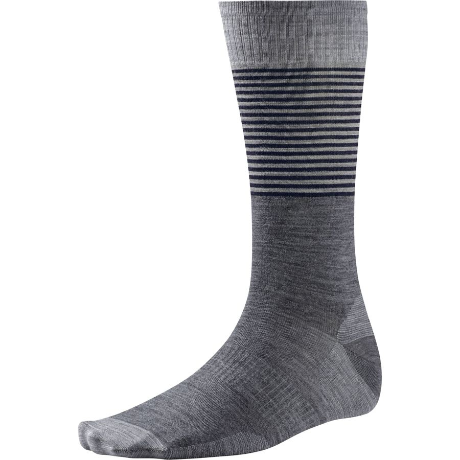 SmartWool Tailored Stripe Crew Sock - Mens