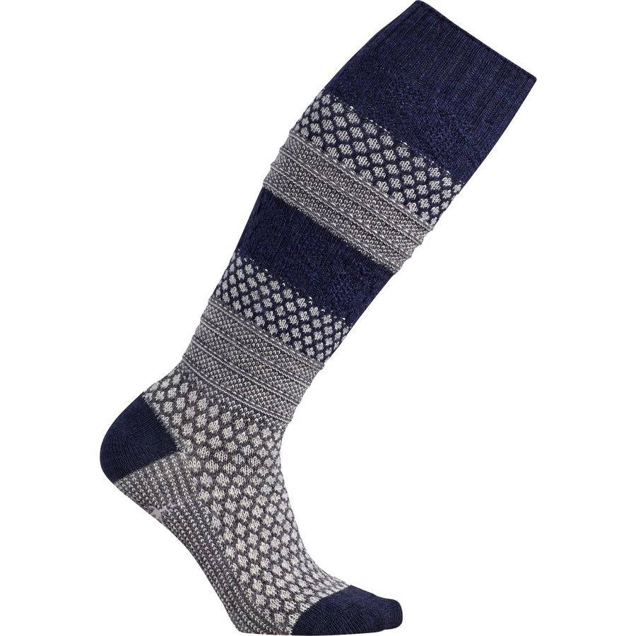 SmartWool Popcorn Cable Knee High Sock - Womens
