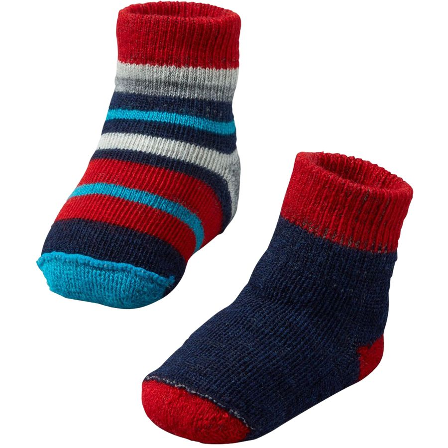 SmartWool Bootie Batch 2 Pack Infants Up to f