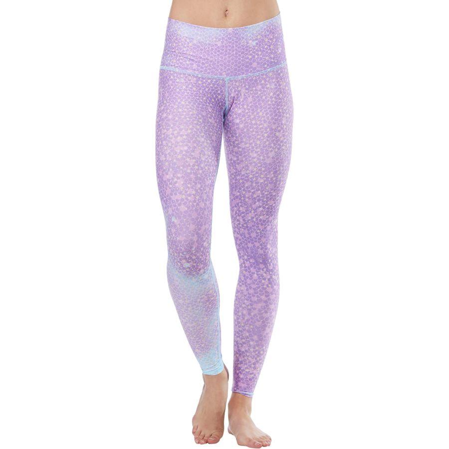 Teeki Mermaid Fairyqueen Lavender Hot Pant - Womens